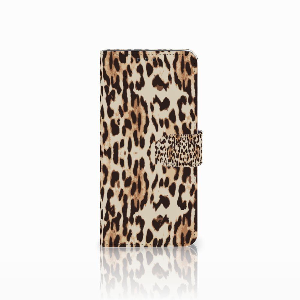 Huawei Nova 4 Uniek Boekhoesje Leopard