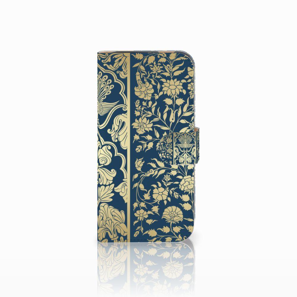 HTC One M8 Boekhoesje Golden Flowers