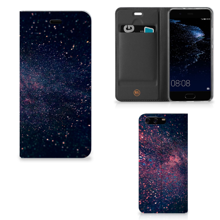 Huawei P10 Stand Case Stars