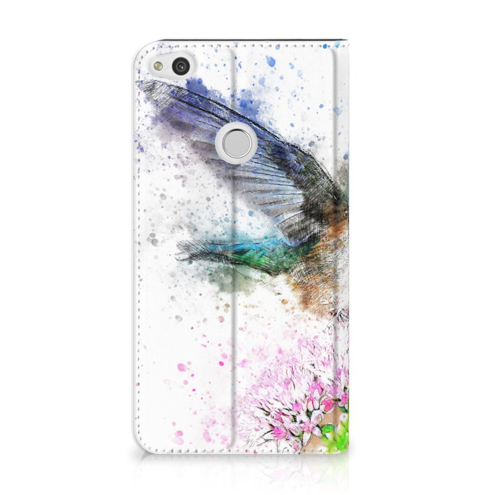 Huawei P8 Lite 2017 Standcase Hoesje Design Vogel