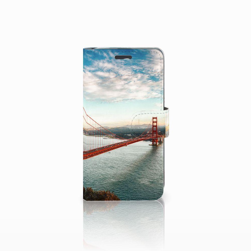 Acer Liquid Z520 Boekhoesje Design Golden Gate Bridge