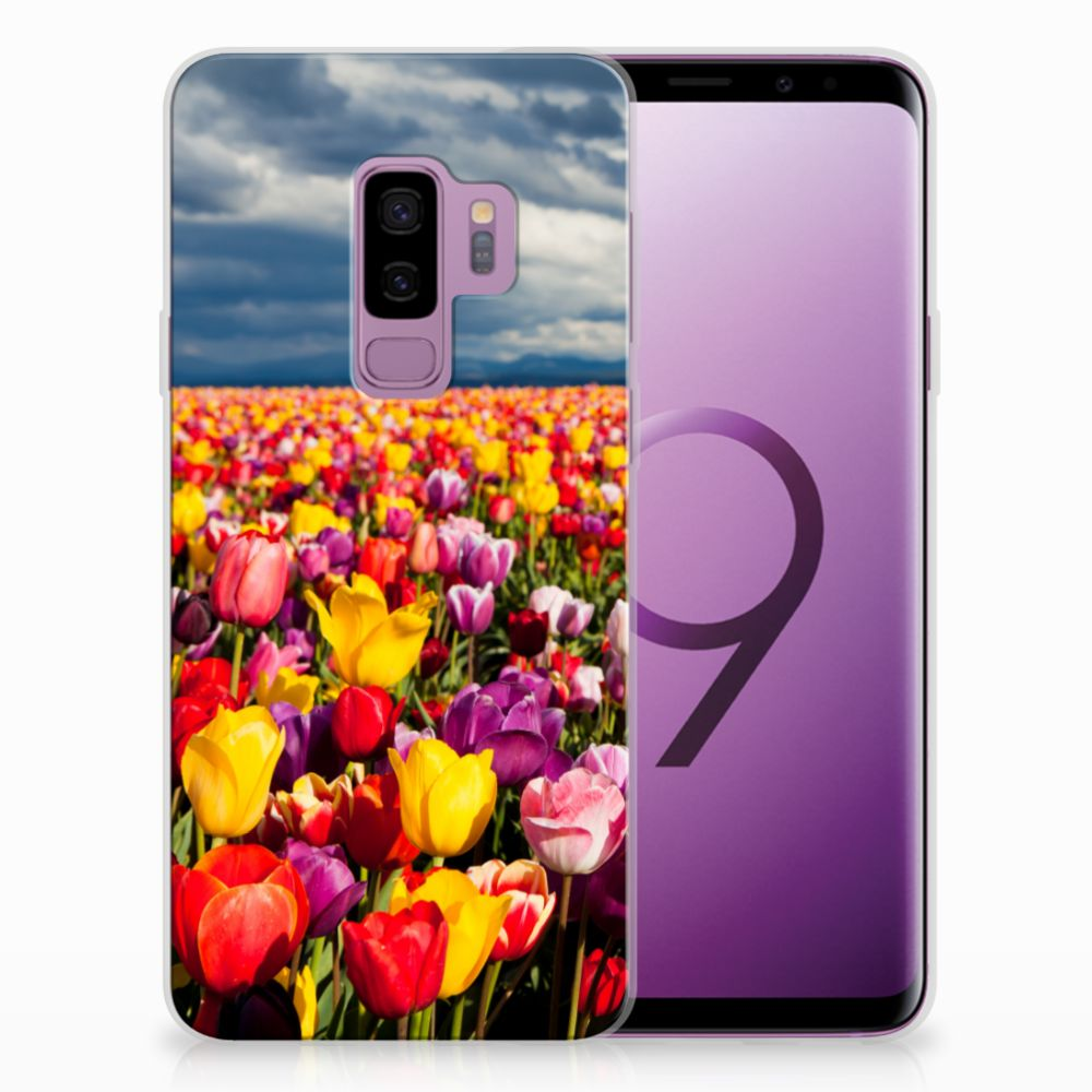 Samsung Galaxy S9 Plus Uniek TPU Hoesje Tulpen