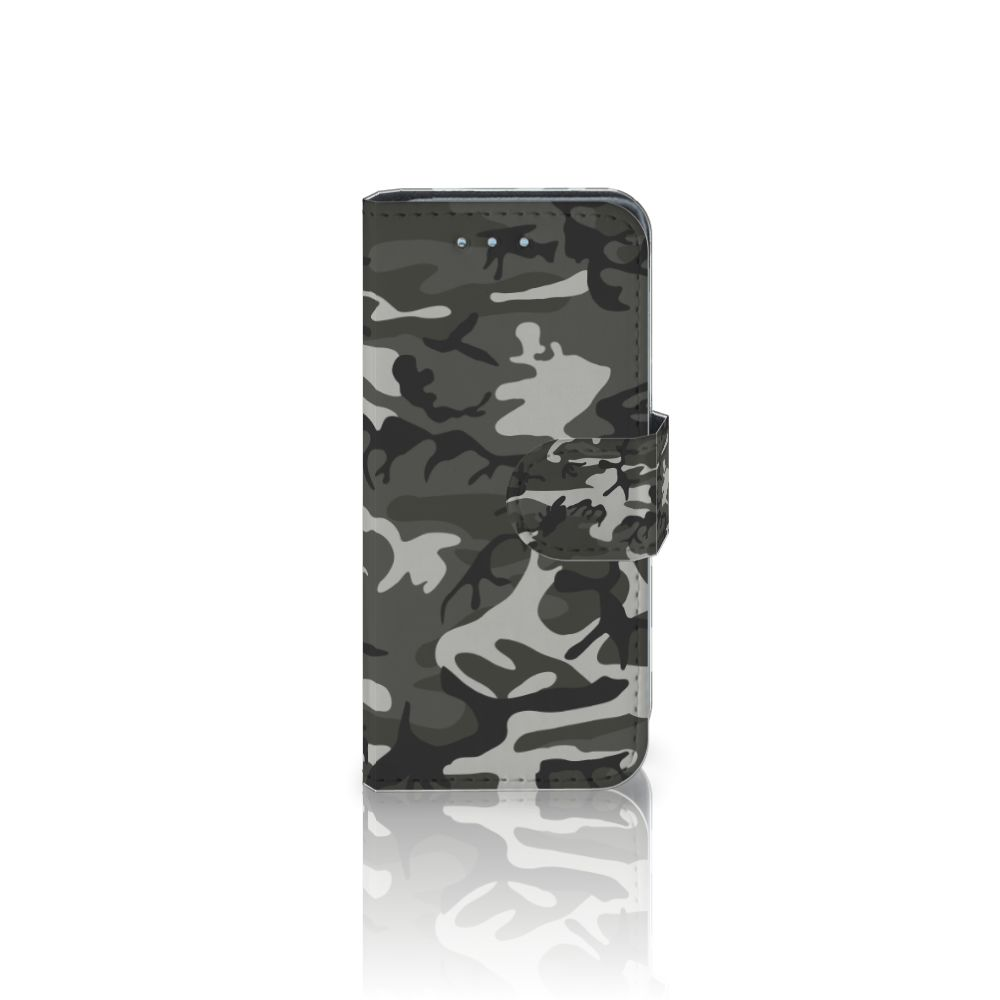 Samsung Galaxy S4 Mini i9190 Uniek Boekhoesje Army Light