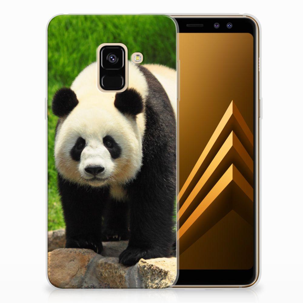 Samsung Galaxy A8 (2018) TPU Hoesje Design Panda