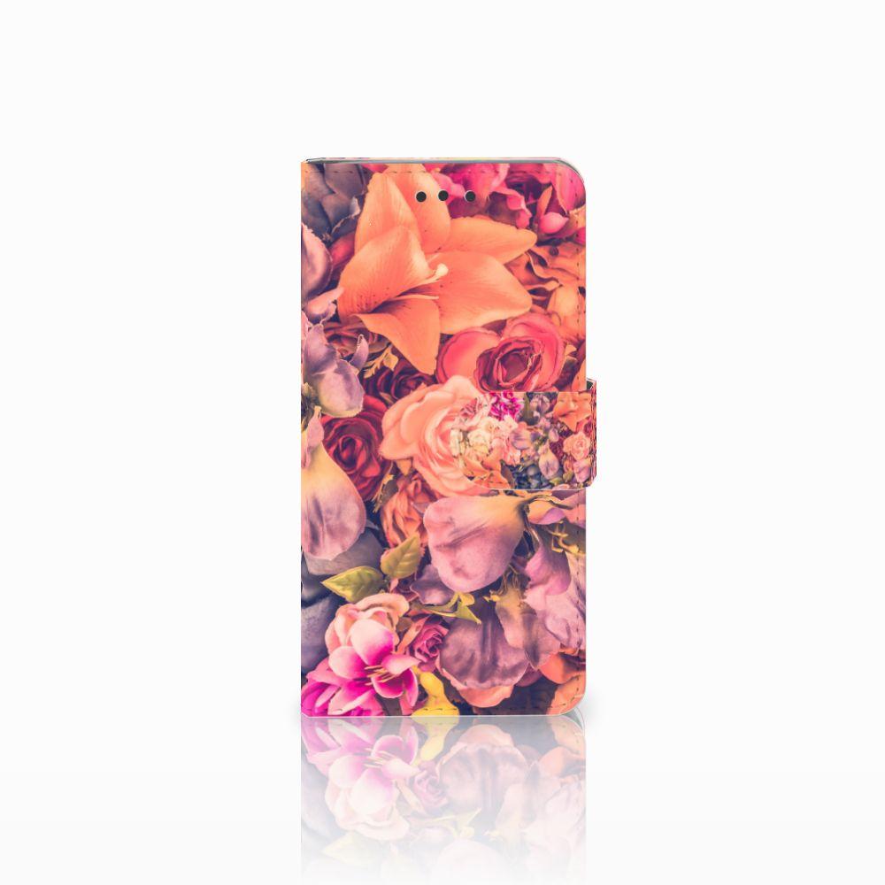 HTC U Play Boekhoesje Design Bosje Bloemen