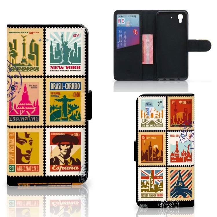 Honor 4A | Y6 Flip Cover Postzegels