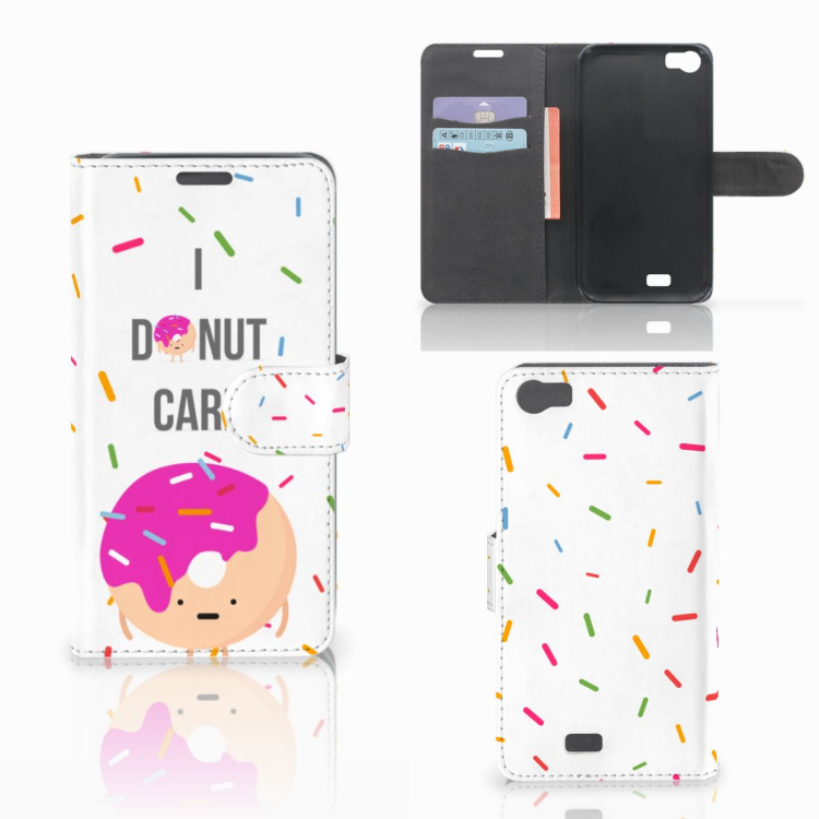 Wiko Lenny Book Cover Donut Roze