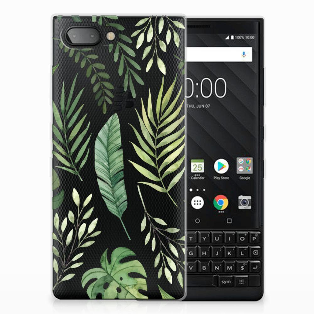 BlackBerry Key2 Uniek TPU Hoesje Leaves