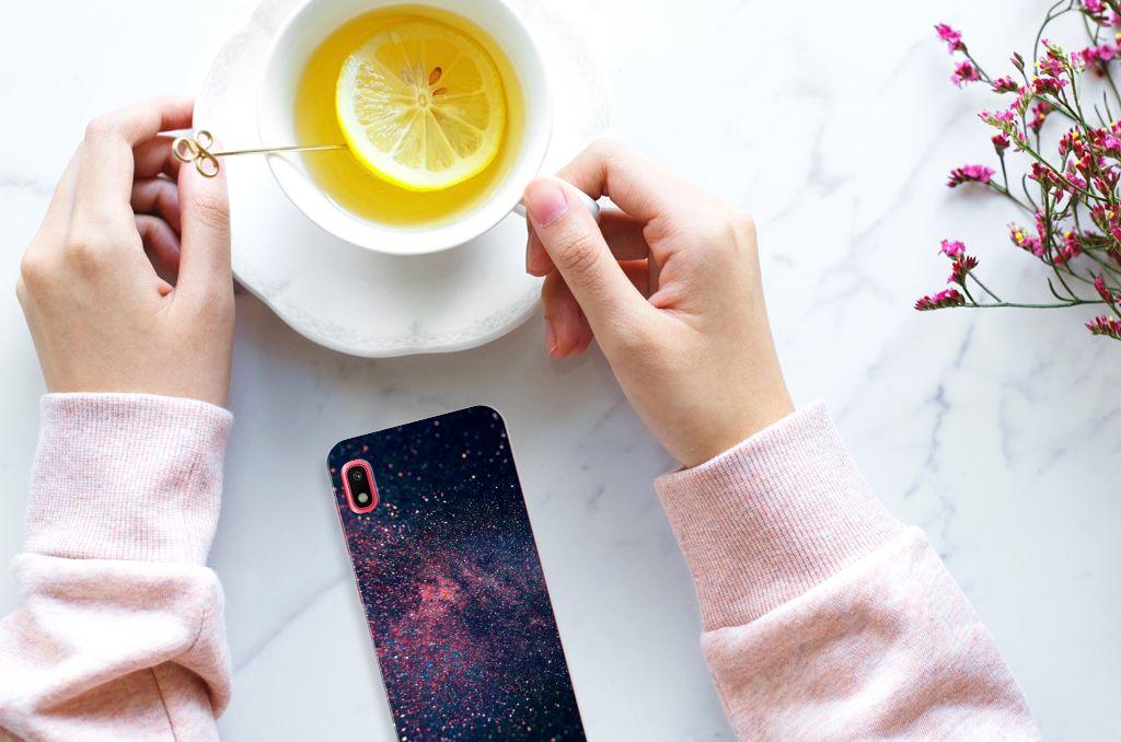 Samsung Galaxy A10 TPU Hoesje Stars