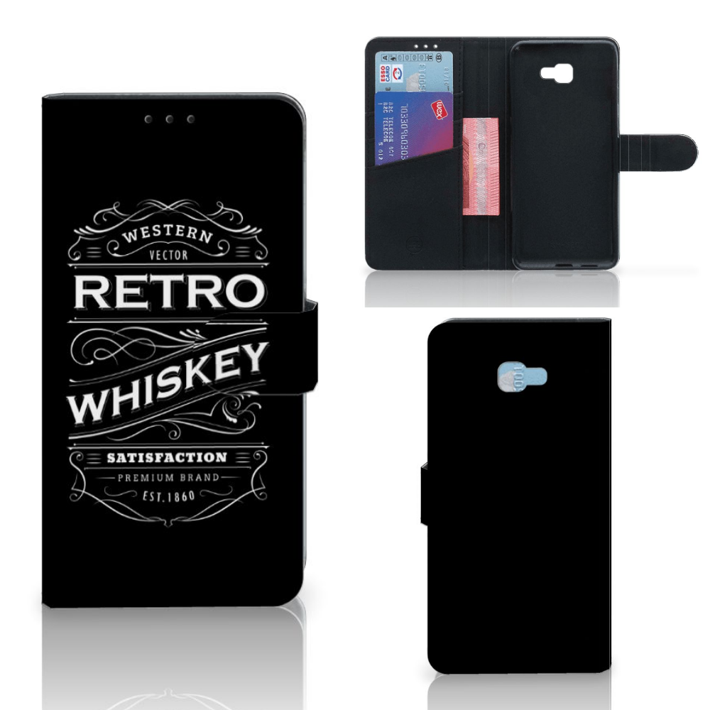 Samsung Galaxy J4 Plus (2018) Book Cover Whiskey