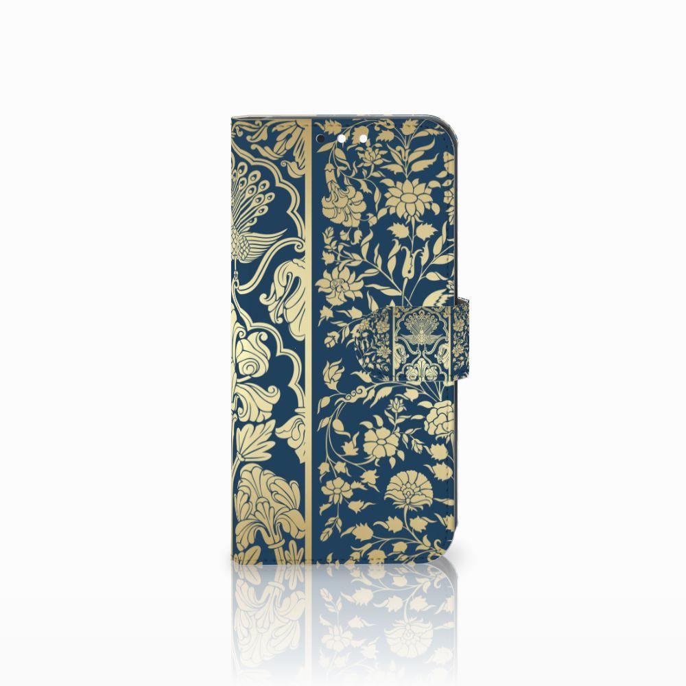Huawei Mate 10 Lite Boekhoesje Golden Flowers