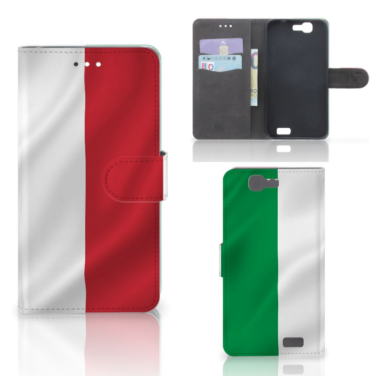 Huawei Ascend G7 Bookstyle Case Italië
