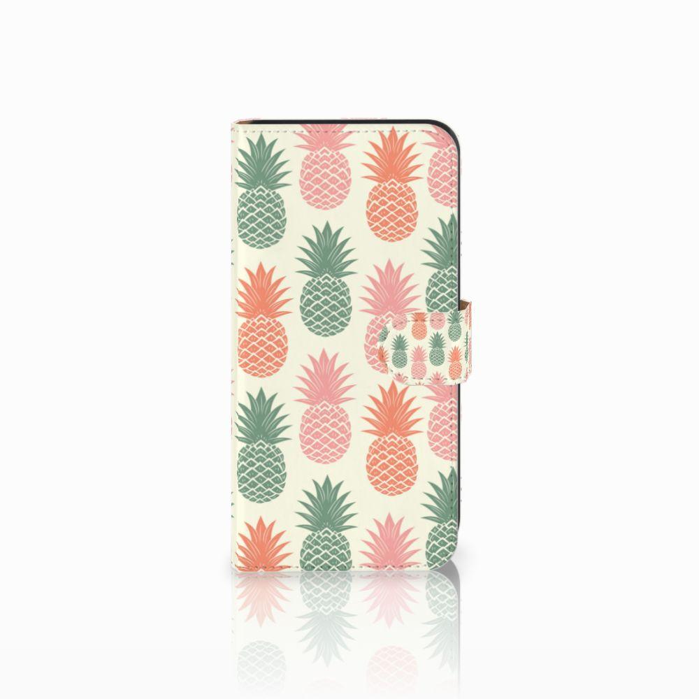 Samsung Galaxy E7 Boekhoesje Design Ananas