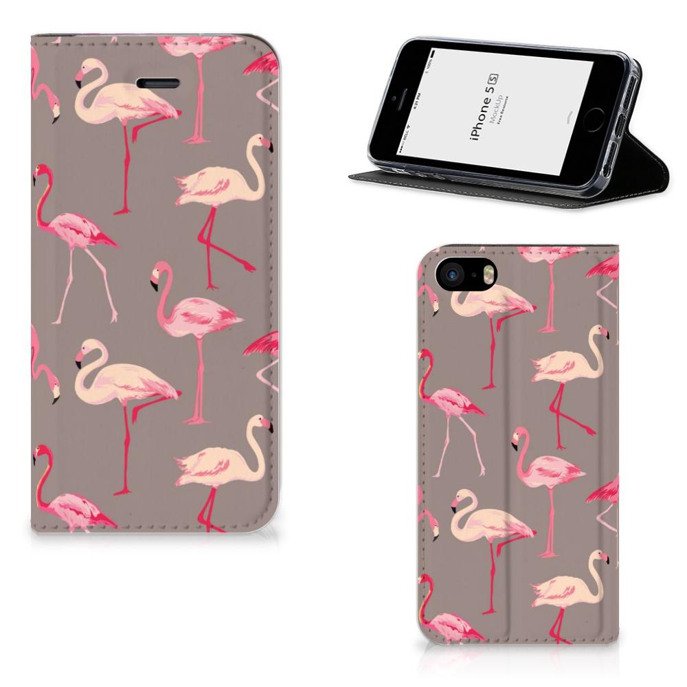 iPhone SE 5S 5 Hoesje maken Flamingo