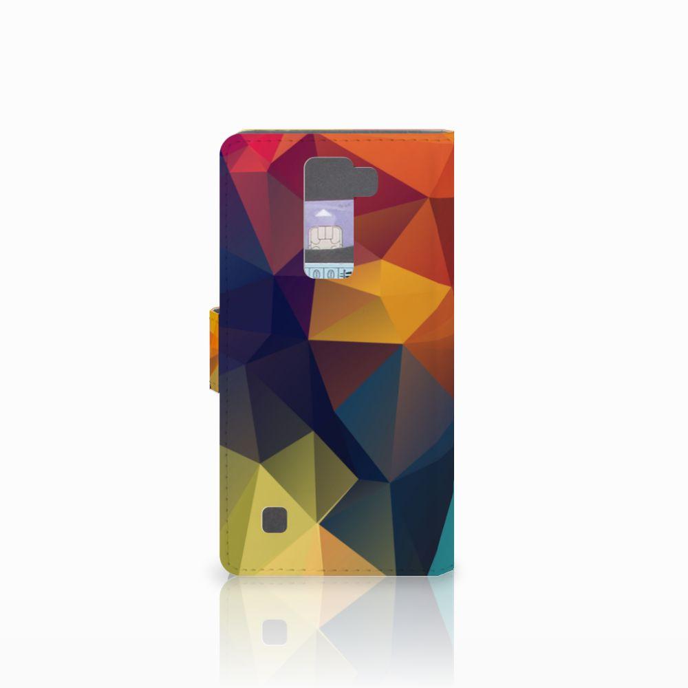 LG K8 Bookcase Polygon Color