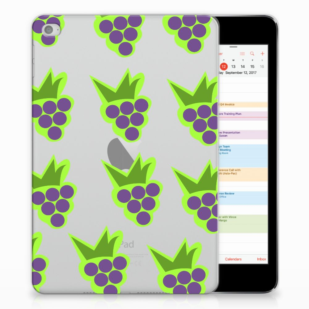 Apple iPad Mini 4 | Mini 5 (2019) Tablet Cover Druiven