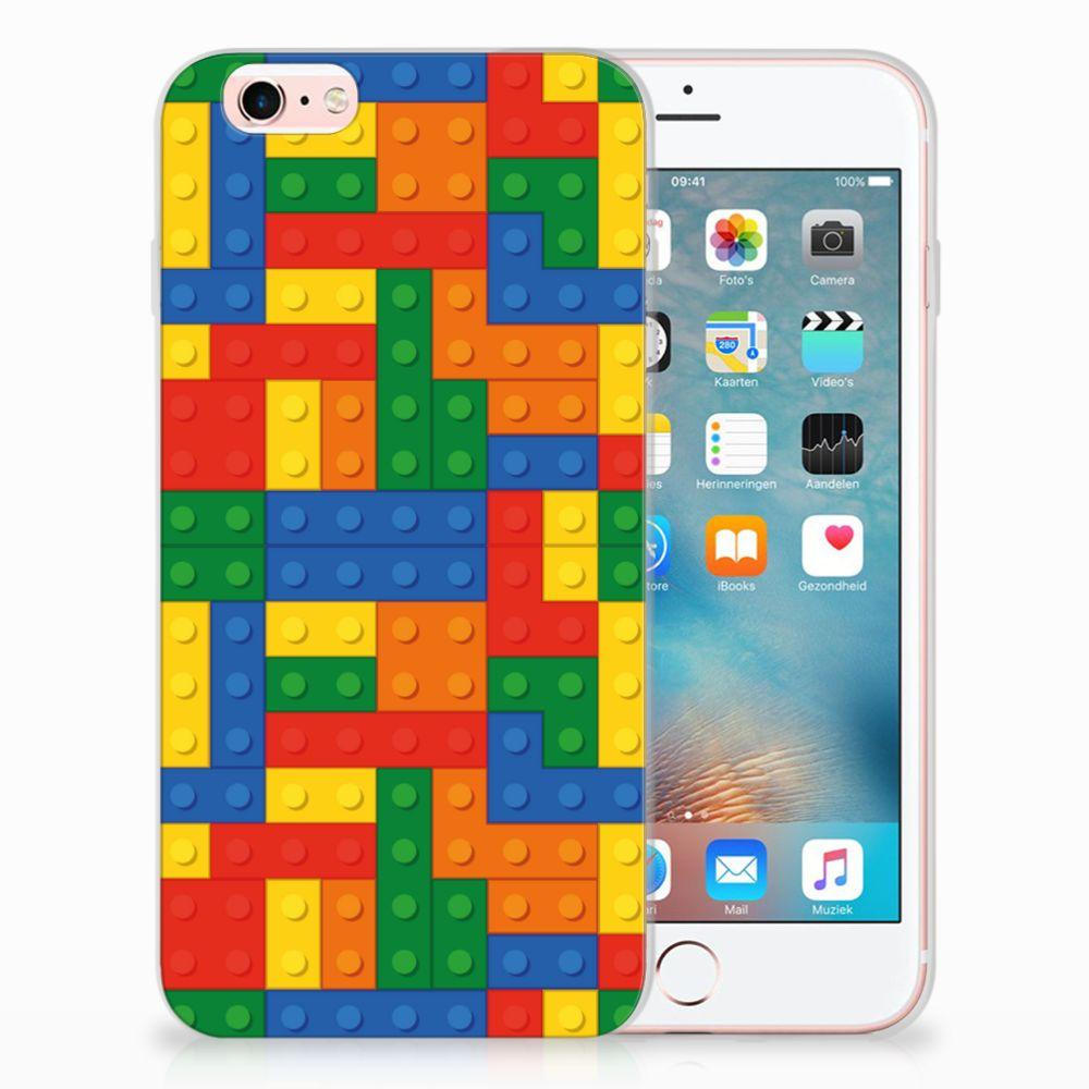 Apple iPhone 6 | 6s TPU Hoesje Design Blokken