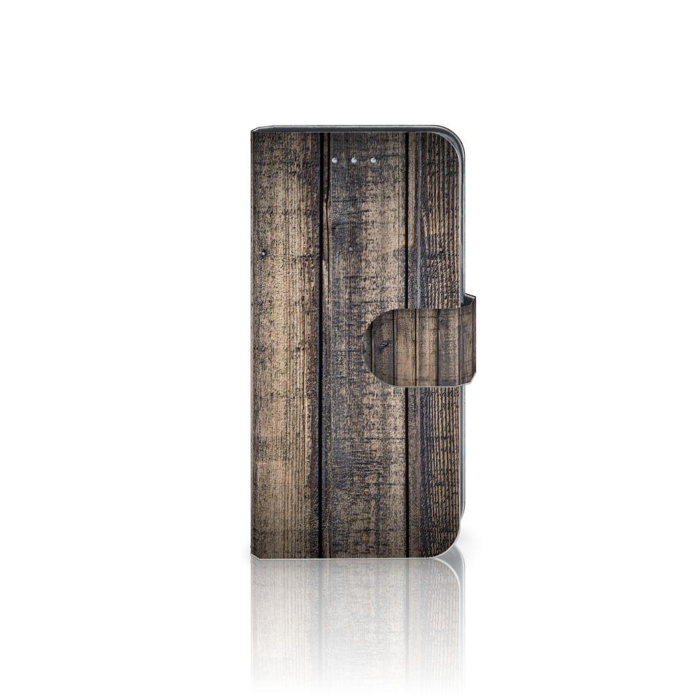 Samsung Galaxy A5 2016 Boekhoesje Design Steigerhout