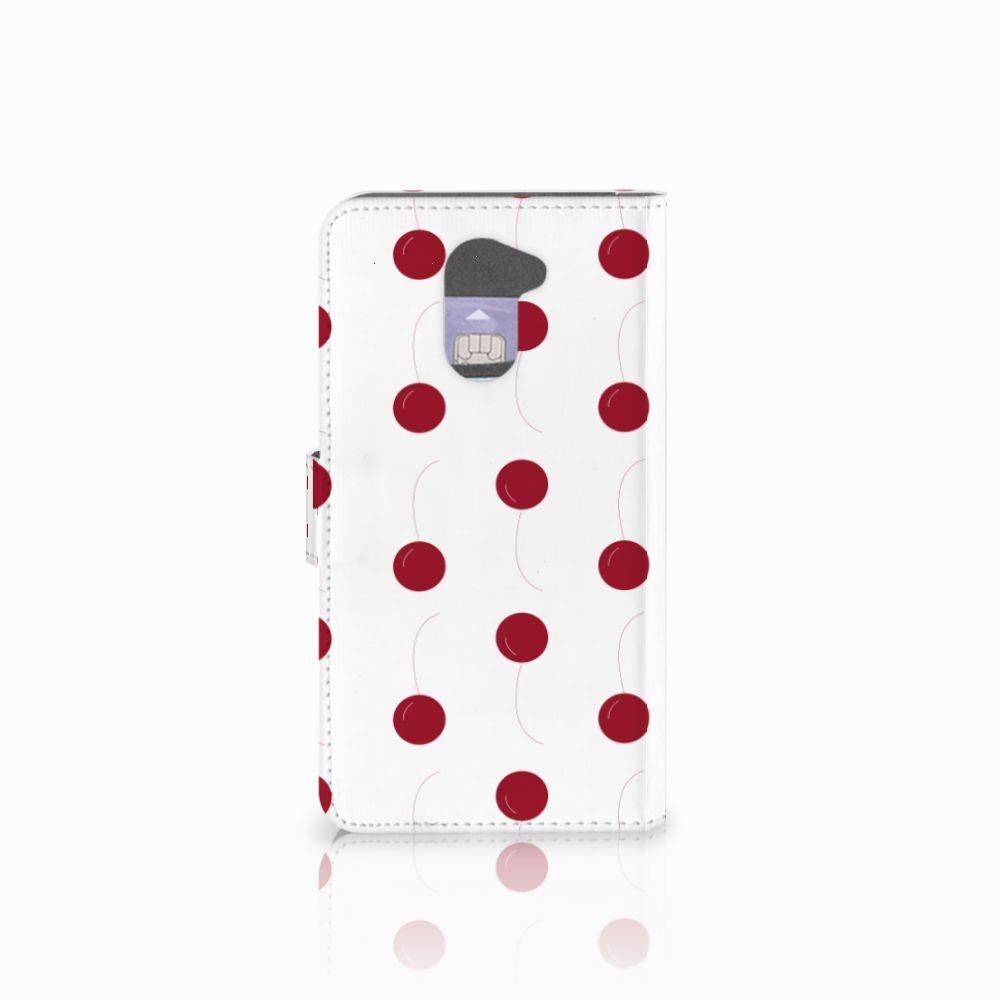 Huawei Y7 2017 | Y7 Prime 2017 Book Cover Cherries