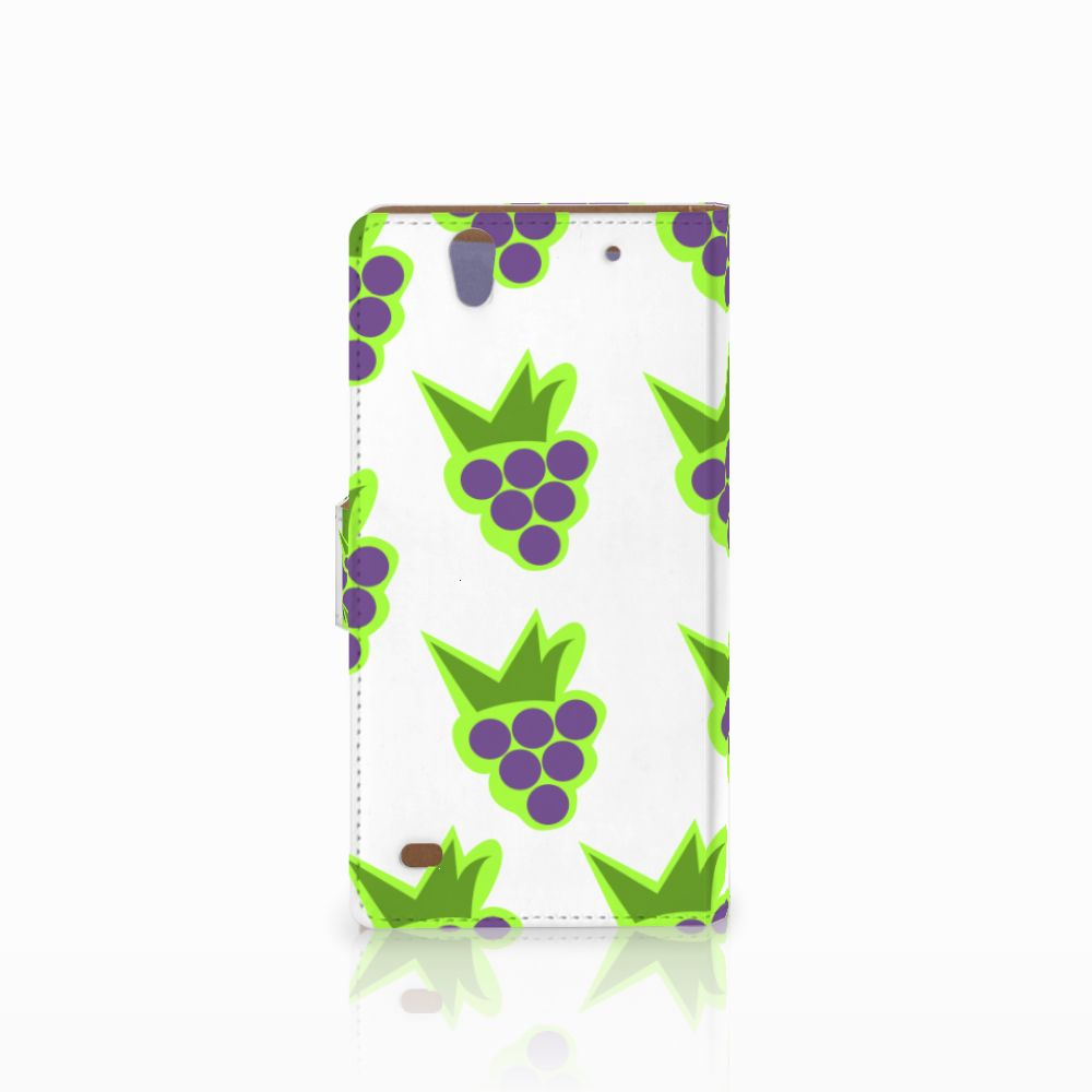 Sony Xperia C4 Book Cover Druiven