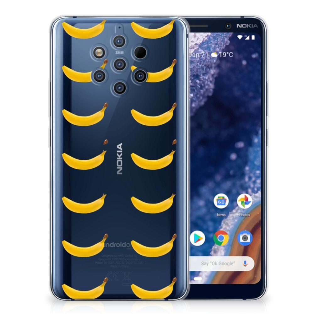 Nokia 9 PureView Siliconen Case Banana