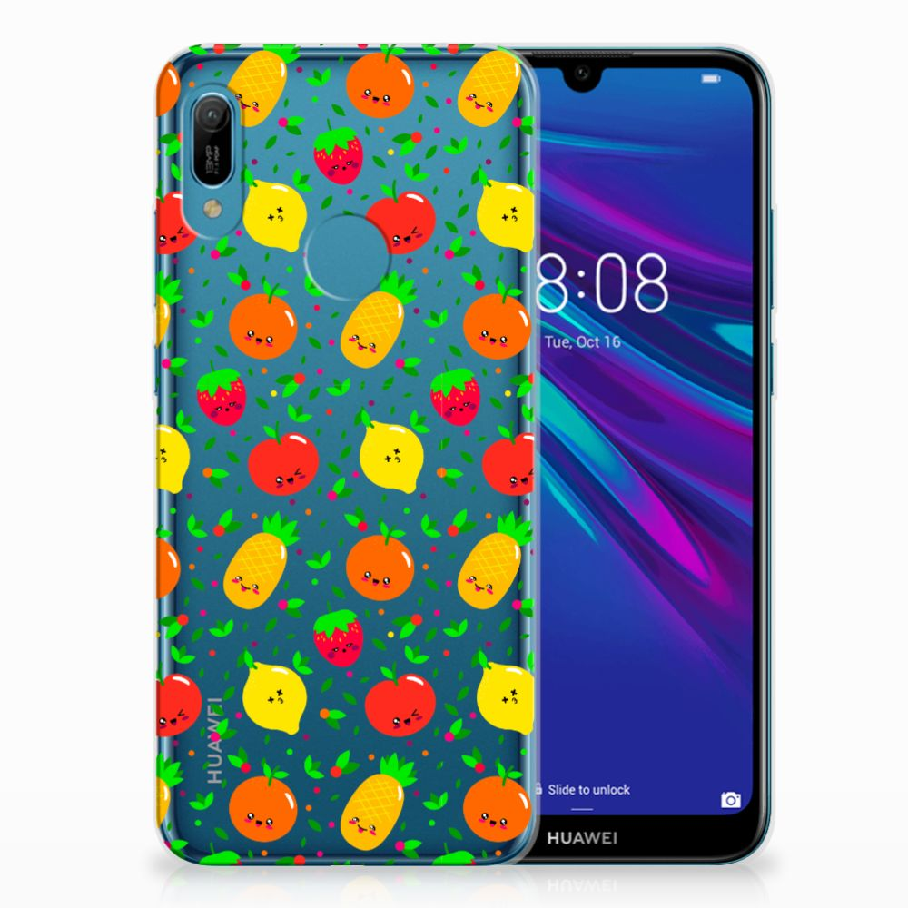 Huawei Y6 2019 | Y6 Pro 2019 Siliconen Case Fruits