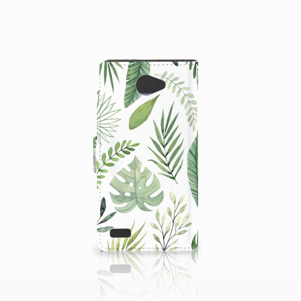 LG Bello 2 Hoesje Leaves
