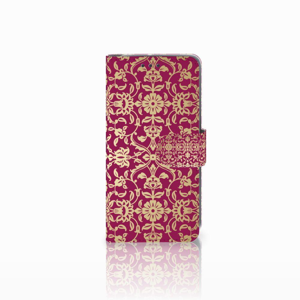 HTC U11 Life Boekhoesje Design Barok Pink
