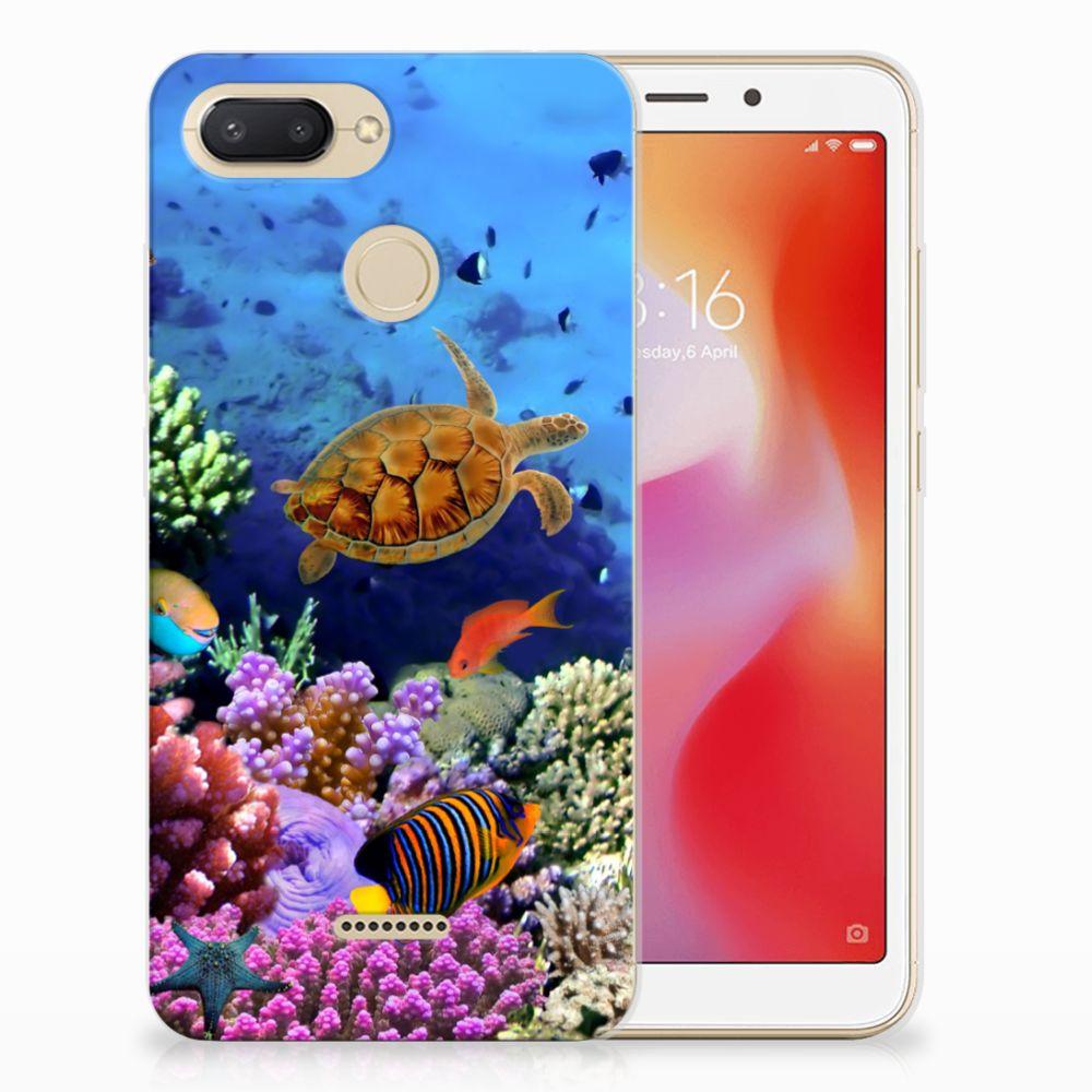 Xiaomi Redmi 6 TPU Hoesje Vissen