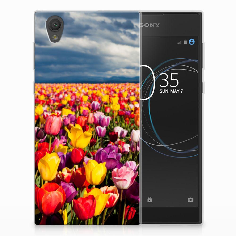 Sony Xperia L1 Uniek TPU Hoesje Tulpen
