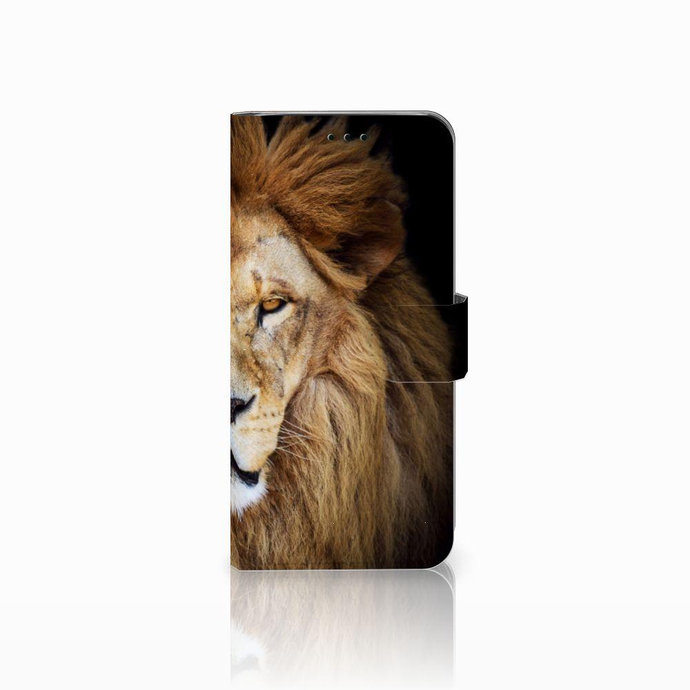 Samsung Galaxy J6 2018 Boekhoesje Design Leeuw