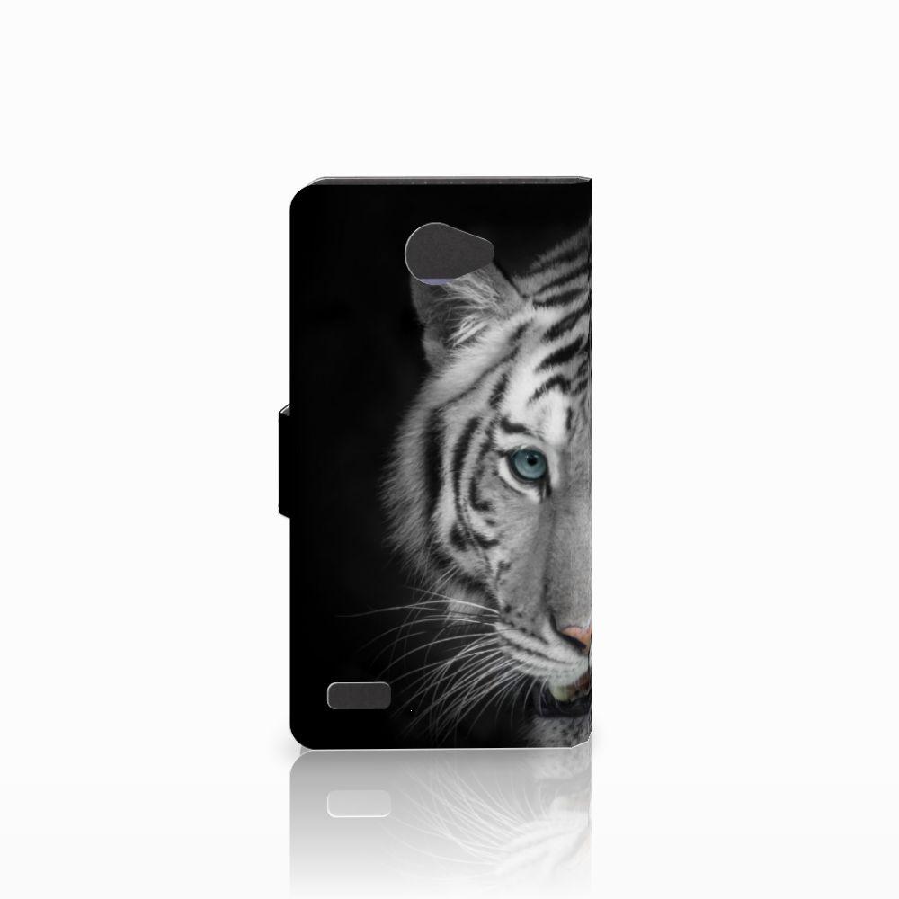 LG Bello 2 Telefoonhoesje met Pasjes Tijger