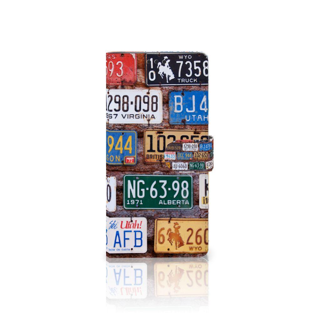 Sony Xperia XA Ultra Uniek Boekhoesje Kentekenplaten