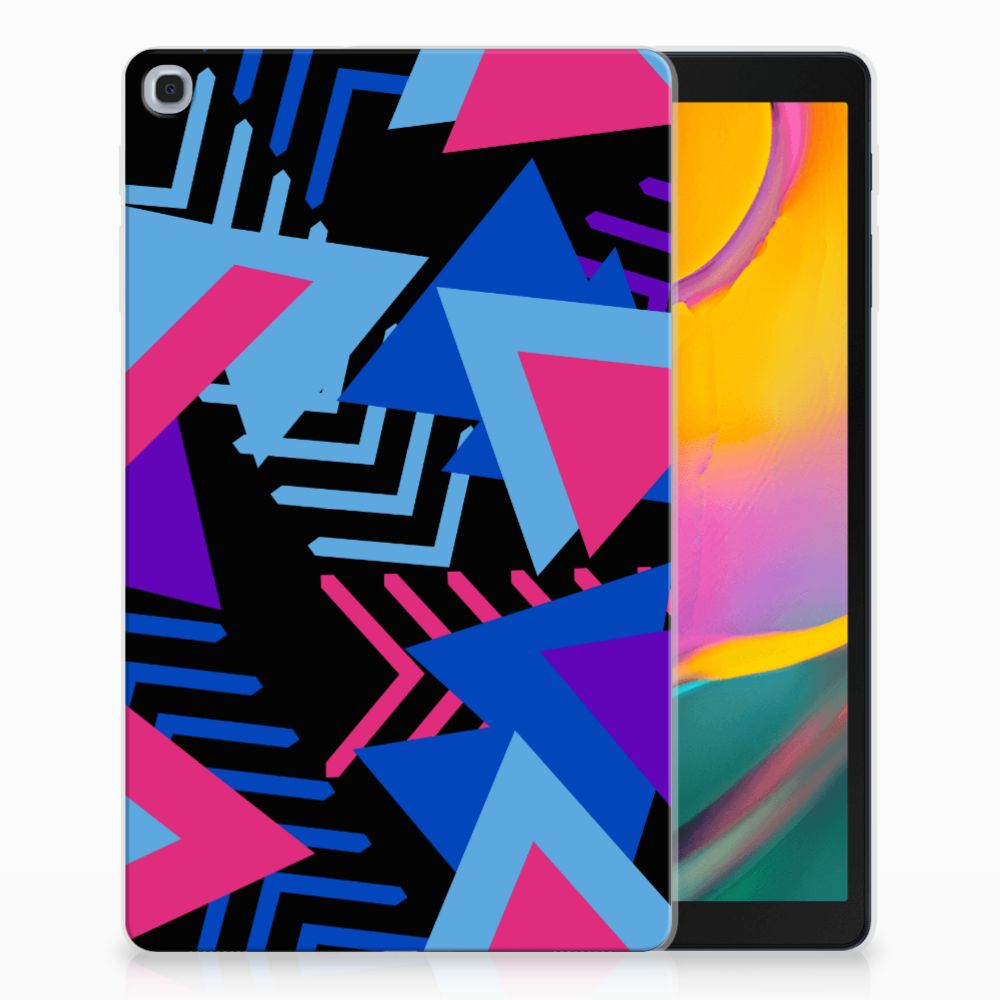 Samsung Galaxy Tab A 10.1 (2019) Back Cover Funky Triangle