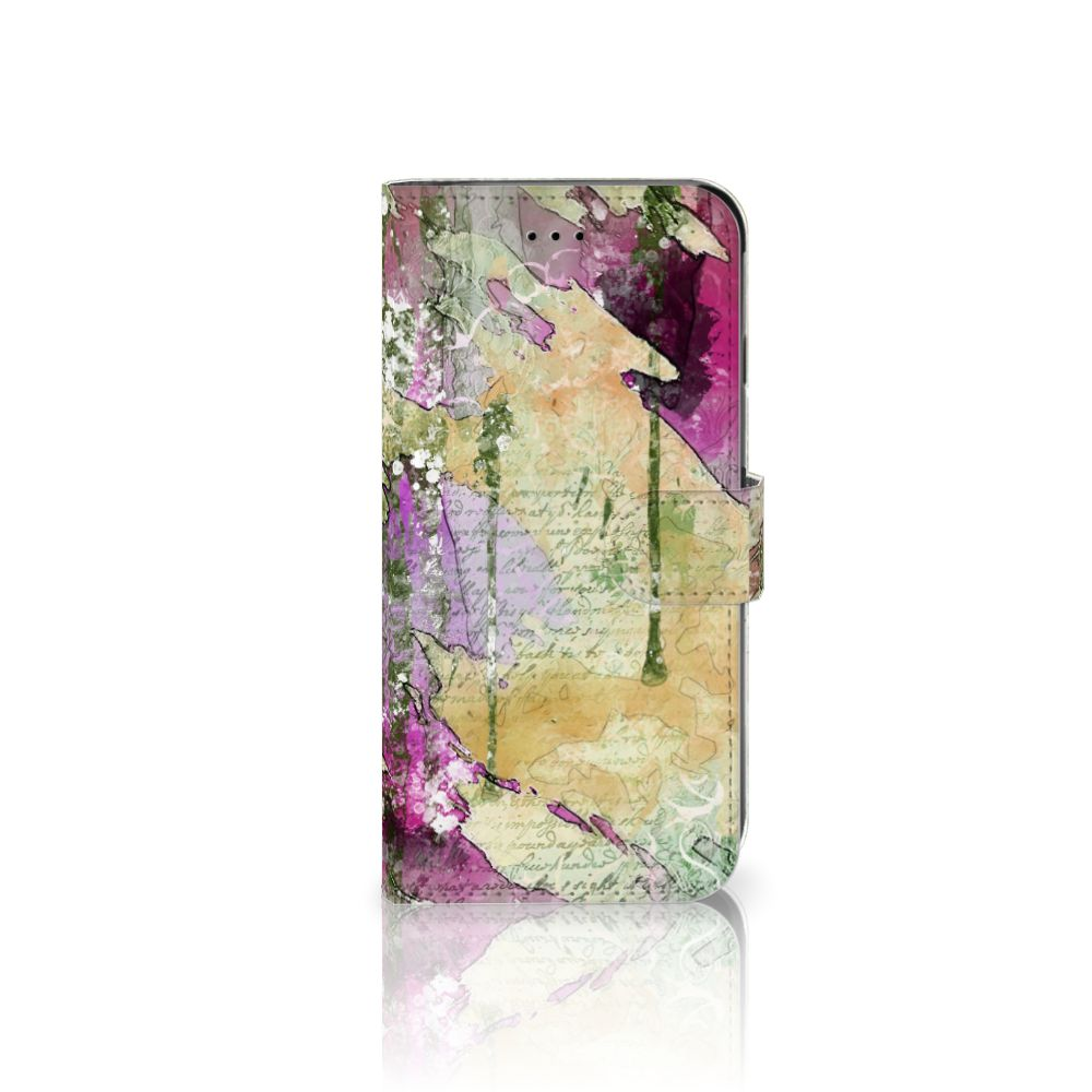 Apple iPhone 6 Plus | 6s Plus Uniek Boekhoesje Letter Painting