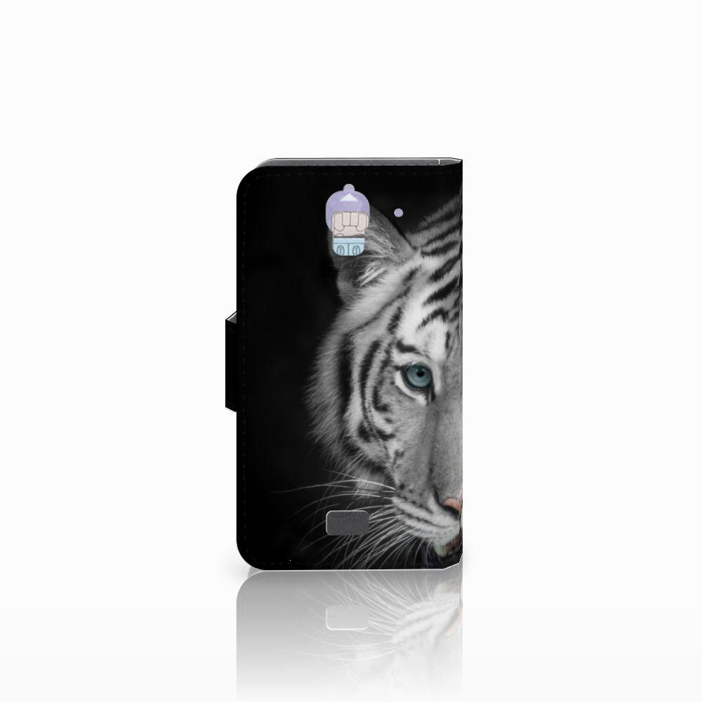 Huawei Y360 Telefoonhoesje met Pasjes Tijger