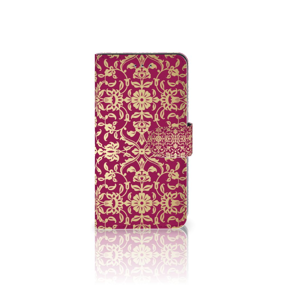 Samsung Galaxy J4 2018 Boekhoesje Design Barok Pink