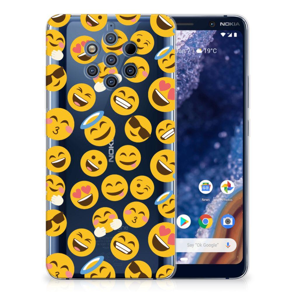 Nokia 9 PureView TPU bumper Emoji