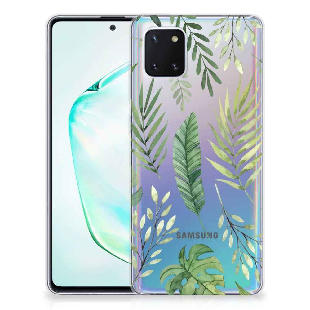 Samsung Galaxy Note 10 Lite TPU Case Leaves