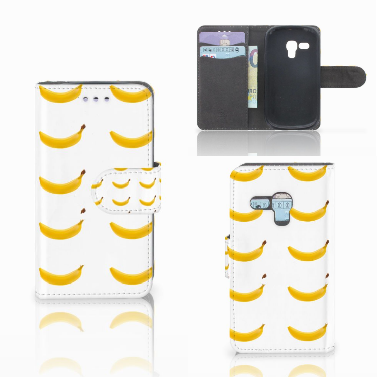 Samsung Galaxy S3 Mini Book Cover Banana