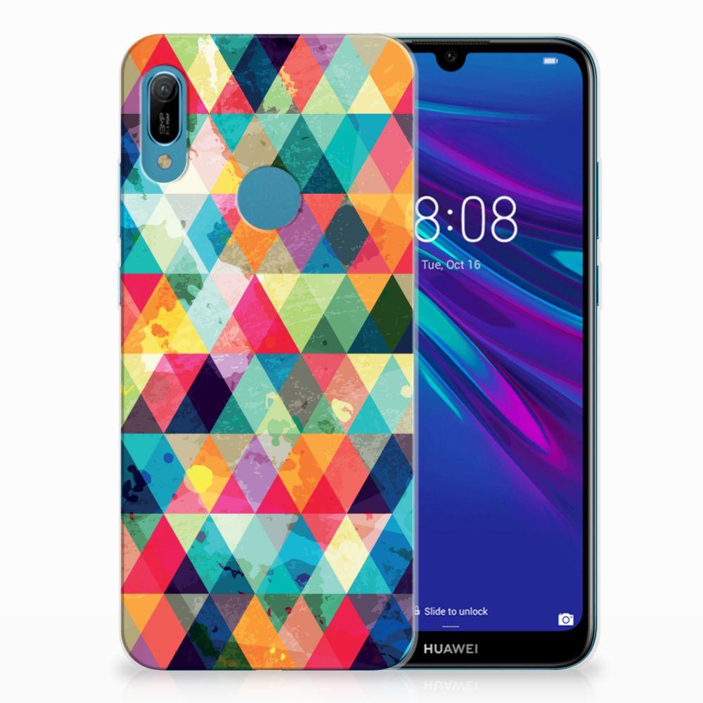 Huawei Y6 2019 | Y6 Pro 2019 TPU bumper Geruit