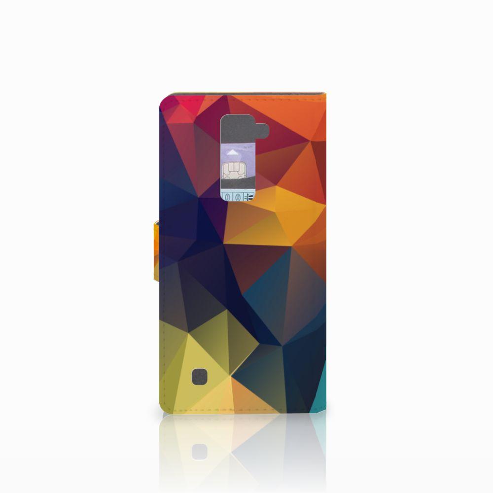LG K10 2015 Bookcase Polygon Color