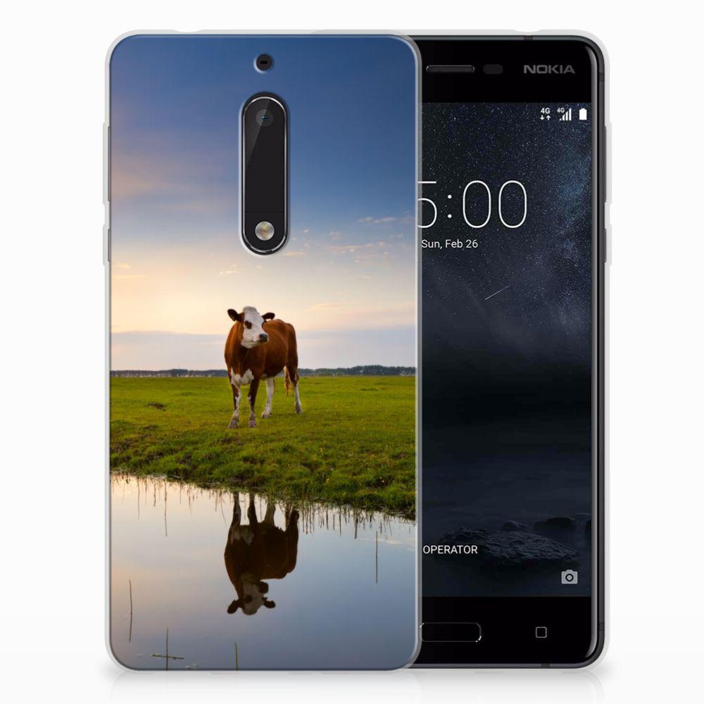 Nokia 5 TPU Hoesje Design Koe