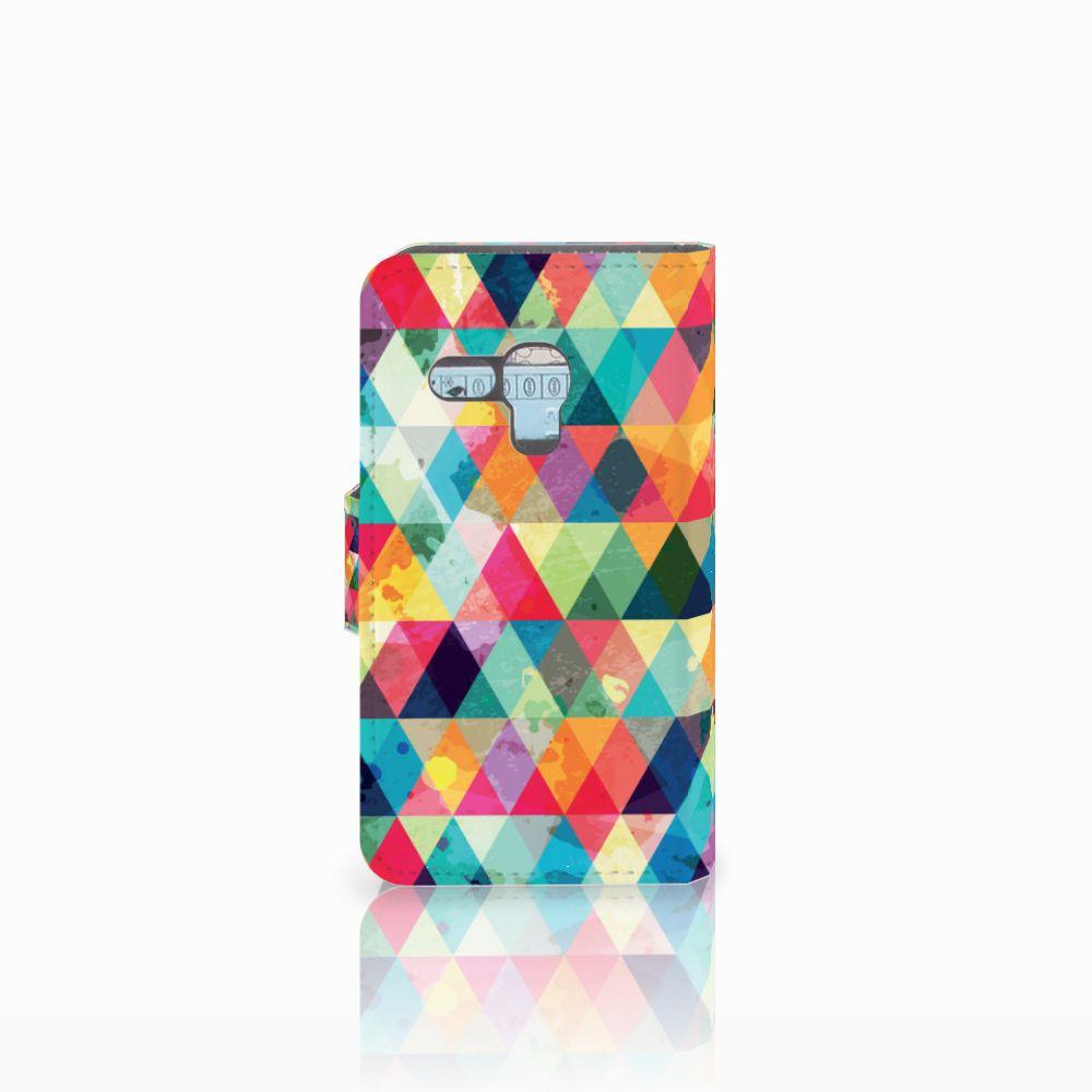 Samsung Galaxy S3 Mini Telefoon Hoesje Geruit