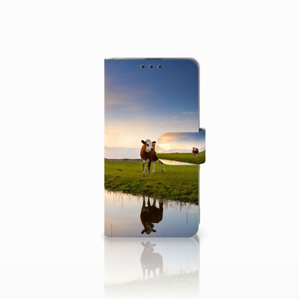 Microsoft Lumia 535 Boekhoesje Design Koe