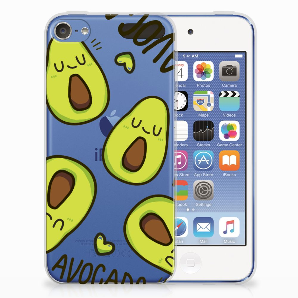 Apple iPod Touch 5 | 6 Uniek TPU Hoesje Avocado Singing