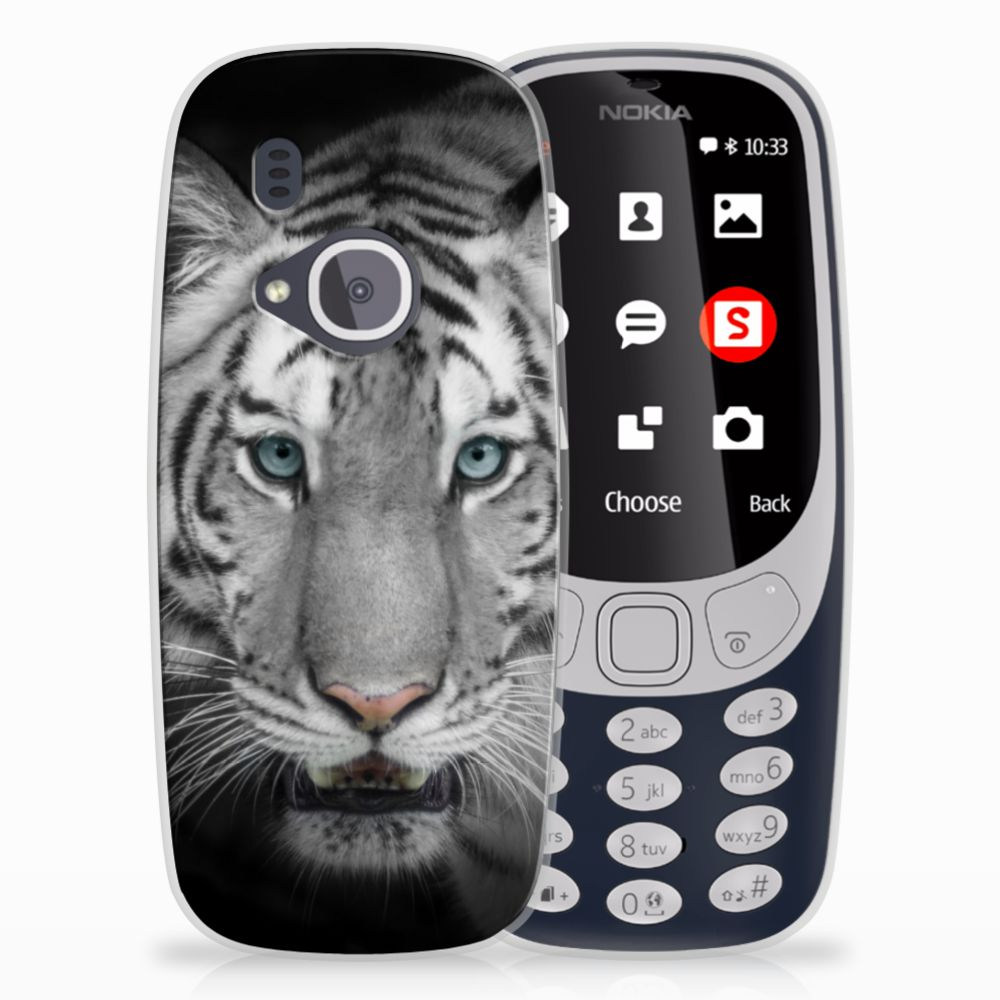 Nokia 3310 (2017) Uniek TPU Hoesje Tijger