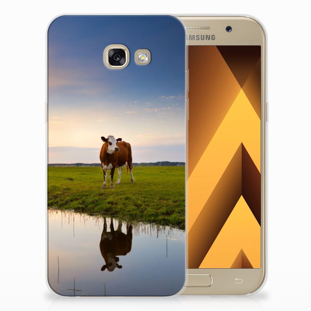 Samsung Galaxy A5 2017 TPU Hoesje Design Koe