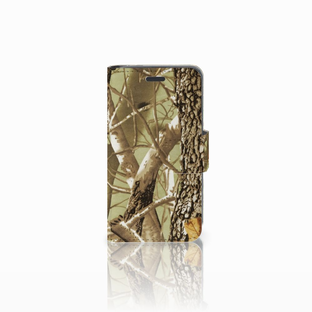 Nokia Lumia 520 Uniek Boekhoesje met Opbergvakjes Camouflage