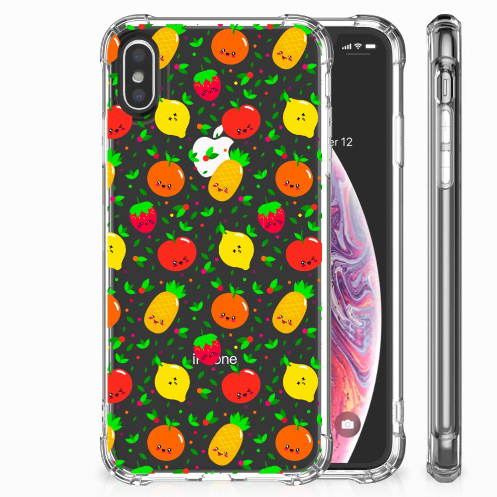 Apple iPhone X | Xs TPU Hoesje Design Fruits